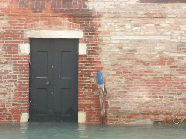 Door on Canal. Venice, Italy. © Tim DeGeorge 2012.